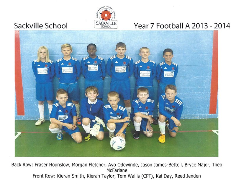 Sackville School Sports Department